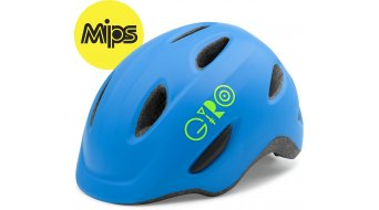 Giro Scamp MIPS Helm Kinder-Helm blue/lime Mod. 2017
