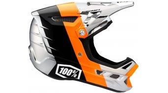 100% Aircraft DH Chrome Edition Helm Fullface-Helm chrome