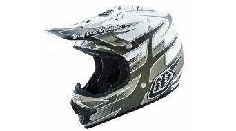 Troy Lee Designs Air Helm Gr. M (57-58cm) starbreak matte white Mod. 2016