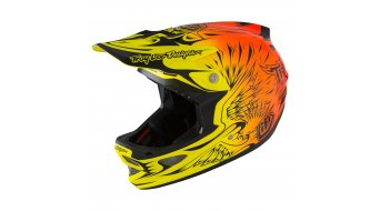 Troy Lee Designs D3 MIPS Helm Fullface-Helm Gr. L (58-59cm) ravange orange Mod. 2016