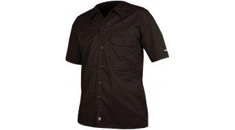 Endura Mechanic Hemd kurzarm Herren-Hemd Shirt black