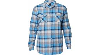 Fox Traildust Hemd langarm Herren-Hemd Gr. XL blue