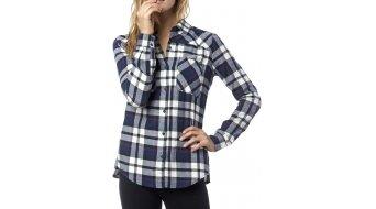 Fox Flown Hemd langarm Damen-Hemd Gr. XL indigo
