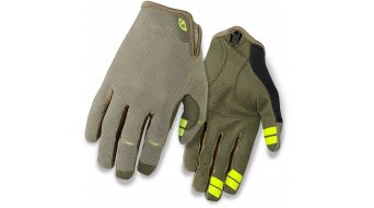 Giro DND Handschuhe lang Gr. S olive/highlight yellow Mod. 2016