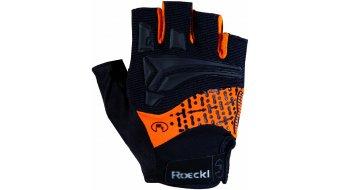 Roeckl Inobe Funktion Handschuhe kurz Gr. 8,5 schwarz/orange - Ausstellungsstück