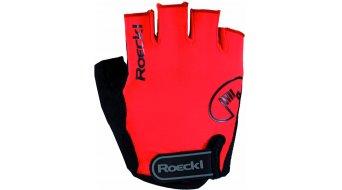 Roeckl Badia Performance Handschuhe kurz Gr. 7,5 fiesta rot
