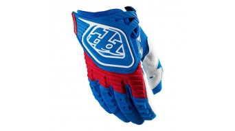 Troy Lee Designs GP MX-Handschuhe Gr. S blue/red Mod. 2013
