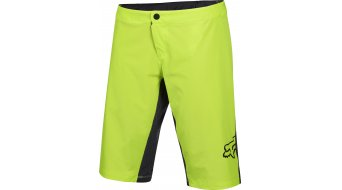 Fox Lynx Hose kurz Damen-Hose Shorts (Women Pro-Sitzpolster) flo yellow