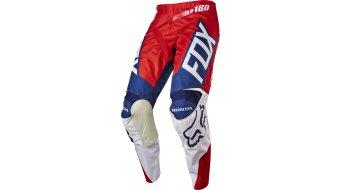 Fox 180 Honda Hose lang Herren MX-Hose Pants red/white