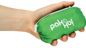 Endura Pakajak Jacke Herren-Jacke Rennrad Showerproof Ball Packed Gr. L green