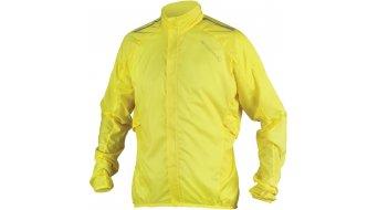 Endura Pakajak Jacke Herren-Jacke Rennrad Showerproof Ball Packed Gr. S hi-viz yellow