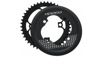 FSA Metropolis Kettenblatt 44-Zähne schwarz (für E-Bikes mit Bosch Antrieb)