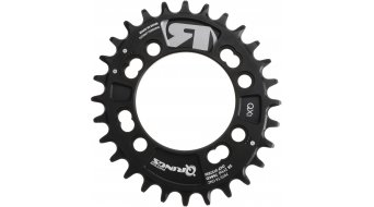 ROTOR Q-Ring MTB QX1 1-fach Kettenblatt 4-Loch (76mm) schwarz
