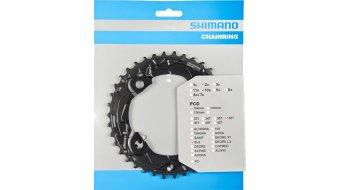 Shimano SLX 2x10-fach Kettenblatt 38 Zähne AM 4-Arm (104mm) für FC-M675 (für Kombination mit 24T)