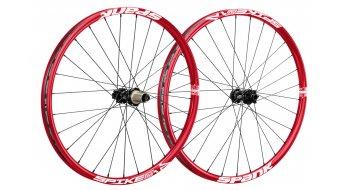 Spank Spike Race Enduro Disc 650B Laufradsatz (VR: 15+20mm/HR: QR+12x142mm) red
