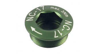 NC-17 Hollow II Kurbelschraube grün M20x1