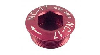 NC-17 Hollow II Kurbelschraube rot M20x1