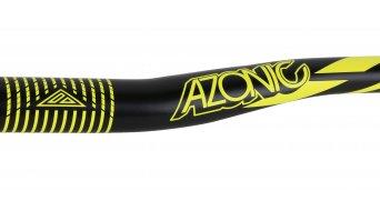 Azonic World Force 318 Lenker 31.8x750mm 18mm-Rise black/neon yellow Mod. 2016