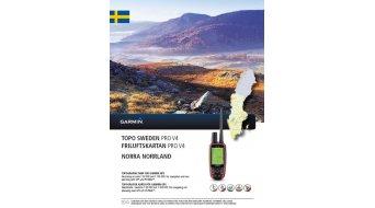 Garmin TOPO Schweden V4 PRO Norra Norrland (DVD+microSD/SD-Karte)