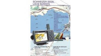Garmin CD Topo Schweiz Schweizer Seen