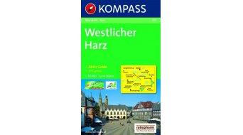 Kompass Wanderkarte Westlicher Harz (inkl. Aktiv-Guide) - 1:50.000