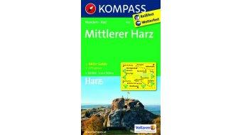 Kompass Wanderkarte Mittlerer Harz (inkl. Aktiv-Guide) - 1:50.000