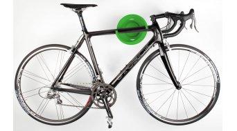 Beispiel für eine Fahrradaufhängung, hier der Cycloc Solo Fahrradhalter, Fahrrad Wandhalterung