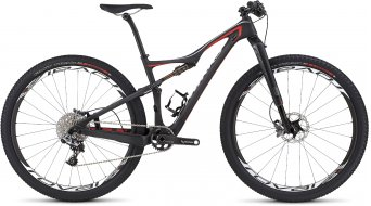 Specialized S-Works Era FSR Carbon 29 MTB Komplettbike Damen-Rad satin gloss carbon/rocket red/dirty white Mod. 2016