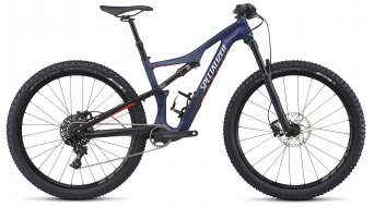Specialized Camber WMN FSR Comp Carbon 650B / 27.5 MTB Komplettbike Damen-Rad nibali blue/nordic red/flake silver Mod. 2017