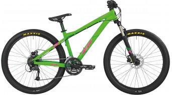 Bergamont Kiez Flow 26 MTB Komplettbike Herren-Rad neon green/pink Mod. 2016