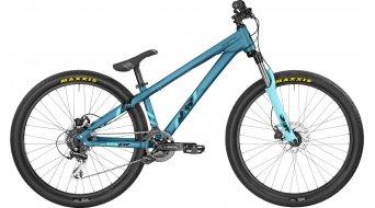 Bergamont Kiez 040 8 Speed 26 MTB Komplettbike petrol/coral blue (matt) Mod. 2017