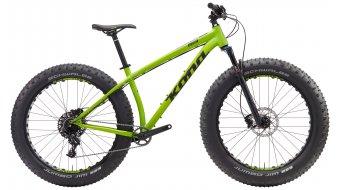 Kona WoZo 26 Fatbike Komplettbike matt green Mod. 2017