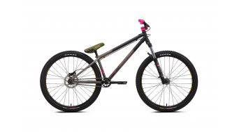 NS Bikes Metropolis 2 26 Komplettbike Gr. Unisize black/purple Mod. 2016