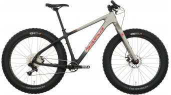 Salsa Beargrease Carbon NX1 26 Fatbike Komplettbike raw carbon/gray fade Mod. 2017