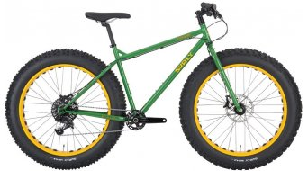 Surly Moonlander Special Ops Fatbike Komplettrad tractor time green Mod. 2016