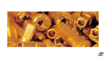DT Alunippel 2.0mm 2.0x12mm gold