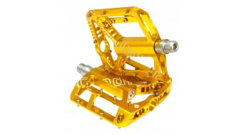 NC-17 Gladiator XII S-Pro CNC Pedale gold Präzisionslager
