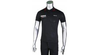 Craft Bora Argon 18 ITZ Pique Polo kurzarm Herren-Poloshirt black