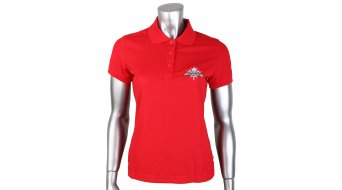 Rocky Mountain Craft Pique Logo Polo kurzarm Damen-Polo Gr. S (36) red