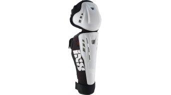 iXS Youth Hammer Series Knee Guard weiss