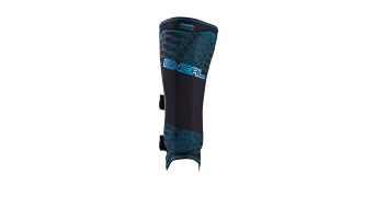ONeal Straight Schienbeinschützer Shin Guard schwarz/blau Mod. 2017