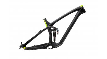 NS Bikes Snabb C Carbon 27.5 / 650B Frame (inkl. Monarch Plus RC3 Debonair) flat black Mod. 2017