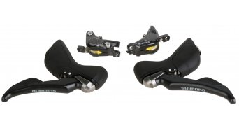 Shimano ST-RS685-R 2x11-fach Schalt-/Bremshebel mit hydraulischer Scheibenbremse 1000/1700mm-Leitung (ohne Scheibe und Adapter)