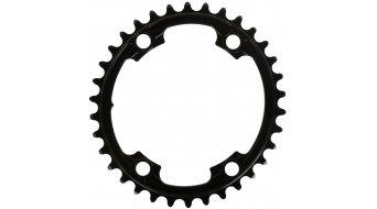 Absolute Black Premium 2x ovales Rennrad Kettenblatt 4-Loch (110mm) für Shimano Kurbeln