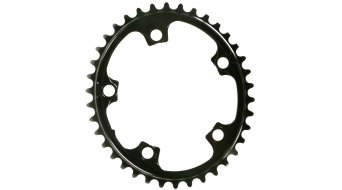 Absolute Black Premium 2x ovales Rennrad Kettenblatt 5-Loch (110mm) nicht SRAM-kompatibel