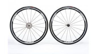 Zipp 30 Clincher Laufrad 700c schwarz/weiße-Aufkleber
