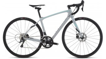 Specialized Ruby Comp Disc Rennrad Komplettrad Damen-Rad gloss filthy white/light turquoise/charcoal Mod. 2016