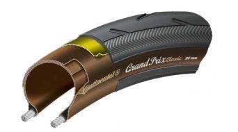 Continental Grand Prix Classic PolyX Breaker Rennrad-Faltreifen 25-622 (700x25C) schwarz/transparent 3/180tpi BlackChili Compound