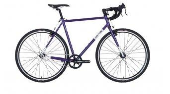 All City Nature Boy Cyclocrosser purple/white