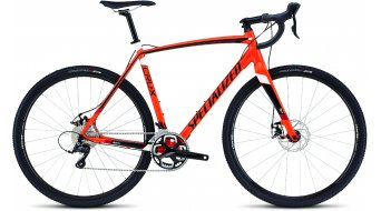 Specialized Crux E5 Cyclocrosser Komplettrad gloss mx orange/tarmac black/white/red Mod. 2016